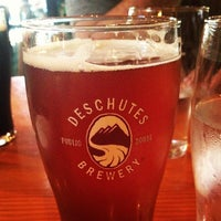 Photo taken at Deschutes Brewery Portland Public House by Willo O. on 9/17/2012