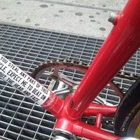 Photo taken at Bushwick Bicycle Shop by E M. on 4/26/2014