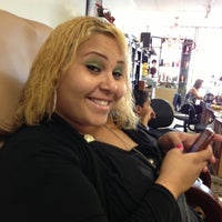 Photo taken at Ewa Hair And Nail Salon by Ester C. on 12/10/2012