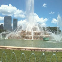 Photo taken at Clarence Buckingham Memorial Fountain by Tanya C. on 6/28/2013