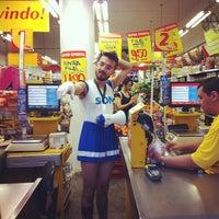 Photo taken at Econ Supermercados by Thiago R. on 4/12/2013