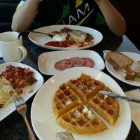 Photo taken at Sunrise Diner by Jim P. on 6/8/2014
