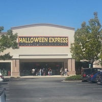 Photo taken at Halloween Express by Diana J. on 10/20/2012