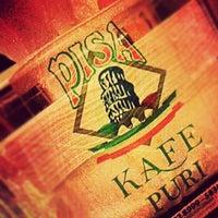 Photo taken at Pisa Kafe by Diandra P. on 10/7/2012