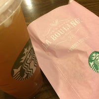 Photo taken at Starbucks by fahsai t. on 5/7/2015