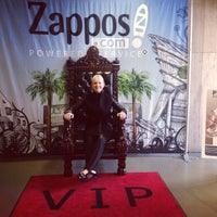 Photo taken at Zappos HQ by Jamie G. on 2/6/2014