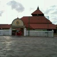 Photo taken at Masjid Gedhe Kauman by noviana a. on 1/9/2013