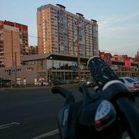 Photo taken at Остановка «Улица Жени Егоровой» by Дмитрий И. on 8/2/2014