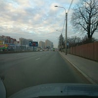 Photo taken at Остановка «Улица Жени Егоровой» by Дмитрий И. on 4/1/2014