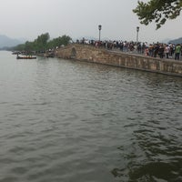 Photo taken at 白堤 Bai Causeway by Doris D. on 10/18/2016