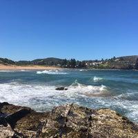 Photo taken at Avalon Beach by Daniela G. on 10/16/2016