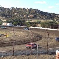Photo taken at Barona Speedway & Dragstrip by Kim on 5/12/2013