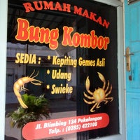Photo taken at RM Bung Kombor by Ferie M. on 6/22/2013