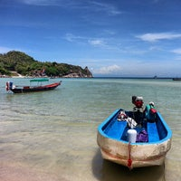Photo taken at Chalok Baan Kao Bay by Nickkohtao on 6/4/2013
