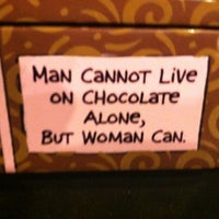 Photo taken at Flagstaff Chocolate Company by Alan W. on 10/8/2012