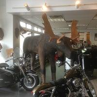 Photo taken at Big Moose Harley-Davidson by Hugh on 6/12/2013