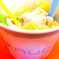 Photo taken at Nubi Yogurt by Diana A. on 4/27/2013