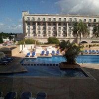 Photo taken at Hyatt Regency Merida by Antonio C. on 10/16/2012