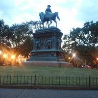 Photo taken at Logan Circle by James S. on 9/27/2012