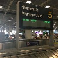 Photo taken at Baggage Claim 5 by Pradabpong W. on 5/9/2016