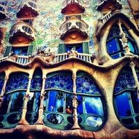 Photo taken at Casa Batlló by Becher B. on 5/25/2013
