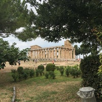 Photo taken at Paestum by Peggy G. on 9/16/2016