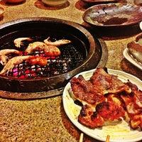 Photo taken at Tajimaya Charcoal Grill by Kath on 1/17/2013