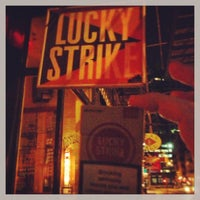 Photo taken at Lucky Strike by Ajax on 1/24/2013