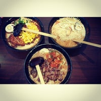 Photo taken at Ajisen Ramen by Justy B. on 4/23/2014
