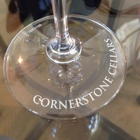 Photo taken at Cornerstone Cellars by Brad D. on 10/9/2013