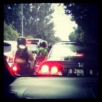 Photo taken at Jalan Raya Lenteng Agung by Hesti C. on 6/2/2013