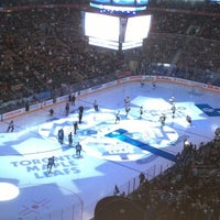 Photo taken at Air Canada Centre by Brian B. on 3/23/2013