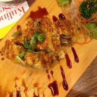 Photo taken at Hatsu Tei Teppanyaki & Sushi by ELKE W. on 1/19/2014