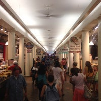 Photo taken at Quincy Market by Brian S. on 7/24/2013
