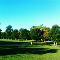 Photo taken at Ravenscourt Park by Kamila P. on 9/25/2012