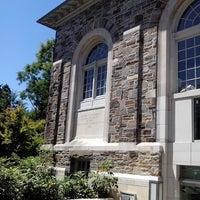 Photo taken at Enoch Pratt Free Library - Roland Park Branch by lynn on 7/25/2014