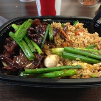 Photo taken at Pei Wei Asian Diner by Jeremy M. on 1/13/2013