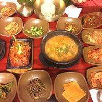 Photo taken at 시골밥상 by Jisun K. on 12/21/2014