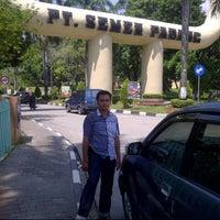 Photo taken at PT Semen Padang by satrio h. on 2/11/2014