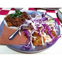 Photo taken at Tacombi at Fonda Nolita by foodforfel on 6/29/2013