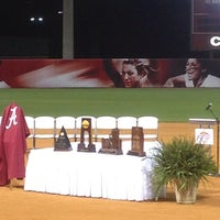 Photo taken at Rhoads Stadium by Donnie M. on 9/22/2012
