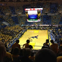 Photo taken at WVU Coliseum by Sean F. on 1/29/2013