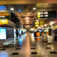Photo taken at Düsseldorf Airport (DUS) by Christian G. on 2/20/2013