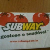 Photo taken at Subway by Renata C. on 11/10/2012