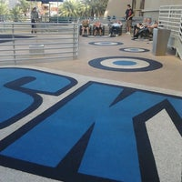 Photo taken at SkyJump by Georgette D. on 10/29/2012