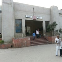 Photo taken at Rithala Metro Station by Claw on 11/15/2012