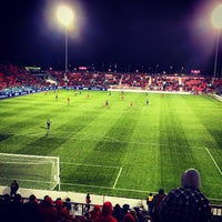 Photo taken at BMO Field by Jason M. on 4/25/2013