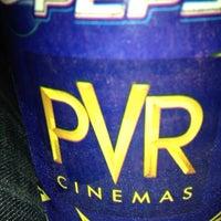 Photo taken at PVR Cinemas by Jaswanth R. on 10/27/2012
