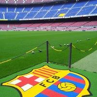 Photo taken at Camp Nou by Karel M. on 4/28/2013