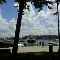 Photo taken at Bebek Parkı by Nurcan A. on 7/4/2013